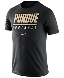 Nike Men's Purdue Boilermakers Icon Wordmark T-Shirt