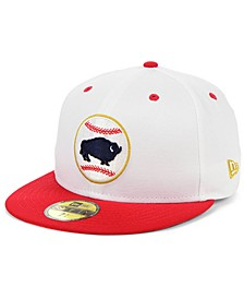 Buffalo Bisons Retro Stars and Stripes 59FIFTY Cap