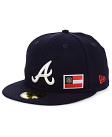 New Era Atlanta Braves Flag Day State 59FIFTY Cap