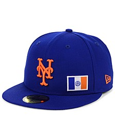 New York Mets Flag Day City 59FIFTY Cap