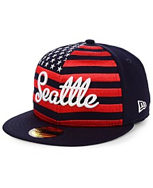 New Era Seattle Mariners Retro Big Flag 59FIFTY Cap