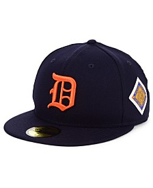New Era Detroit Tigers World Series Patch 59FIFTY Fitted Cap