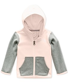 The North Face Baby Girls Colorblocked Glacier Fleece Hoodie
