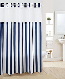 Hookless Stripes Shower Curtain