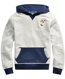 Big Boys Polo Bear Cotton Fleece Hoodie