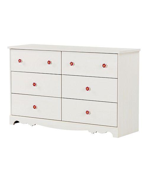 South Shore Lily Rose Dresser