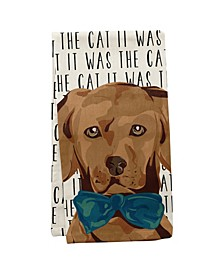 Wit Gifts Tea Towels, Dog