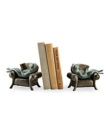 Home Frogs Bookends