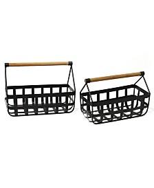 Stratton Home Decor Modern Farmhouse Basket Set