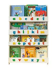 The Tidy Books Kid's Bookshelf with Alphabet