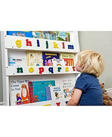 The Kid's Bookshelf with Alphabet