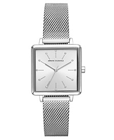 Women's Lola Stainless Steel Mesh Bracelet Watch 30mm