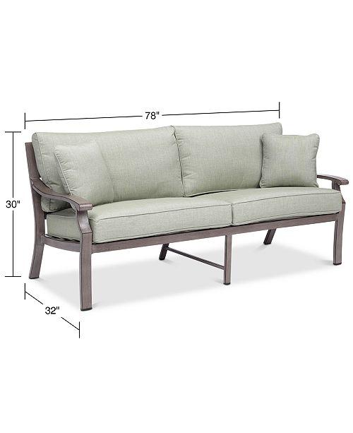 Furniture Tara Aluminum Outdoor Sofa