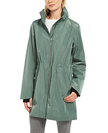 Water-Repellent High-Hem Jacket