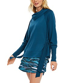 Cowlneck Side-Tie Top, Created for Macy's