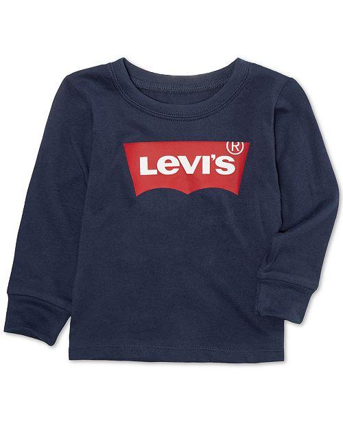 Levi's Baby Boys Batwing-Print Cotton T-Shirt