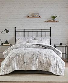 Lilia Queen 9-Pc. Reversible Comforter Set
