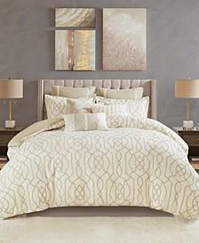 Clarity Queen 8-Pc. Comforter Set