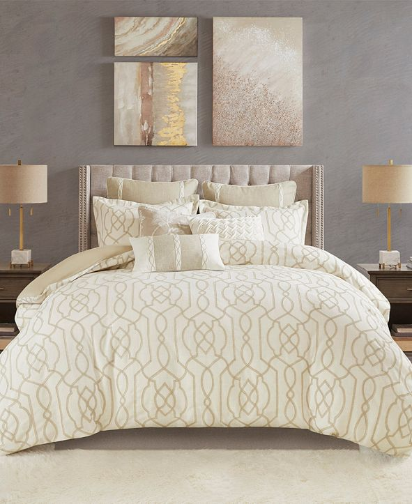 Madison Park Signature Clarity Queen 8-Pc. Comforter Set