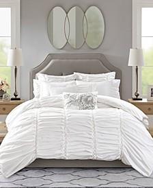 Gardenia King 9-Pc. Cotton Comforter Set