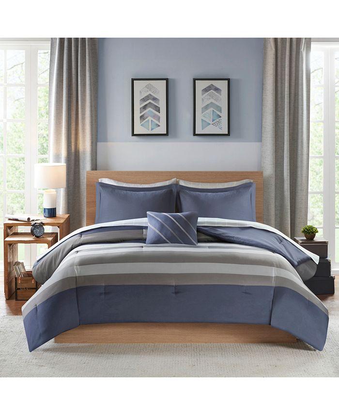 Intelligent Design - Marsden Complete Bed Set with Sheet Set
