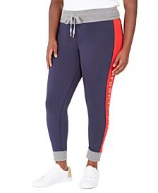 Plus Size Logo Jogger Pants