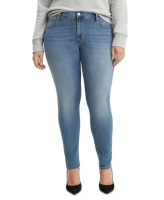 20W 22W MSRP $54.50 Women/'s Plus Size Levi/'s 711 Skinny Ankle Jeans Sizes 18W
