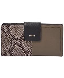 Fossil RFID Logan Leather Tab Wallet