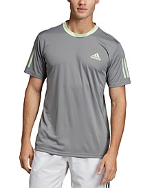 Men's Club 3 Stripe Tennis T-Shirt