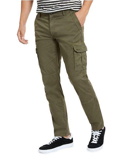 American Rag Men's Slim-Fit Cargo Pants, Created for Macy's