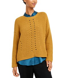 Eileen Fisher Textured-Knit Sweater