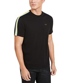 A|X Armani Exchange Men's Side Stripe T-Shirt, Created for Macy's