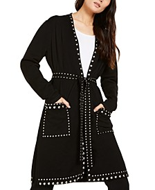 INC Studded Cardigan, Created For Macy's