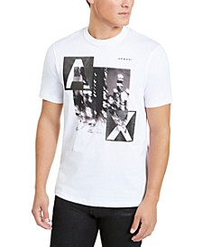 Men's Blurry City T-Shirt, Created for Macy's