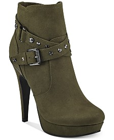 G by Guess Deeka Platform Dress Booties