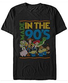 Disney Pixar Men's Made in The 90's Short Sleeve T-Shirt