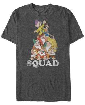 Disney Men's Snow White Dwarf Squad Goals Short Sleeve T-Shirt