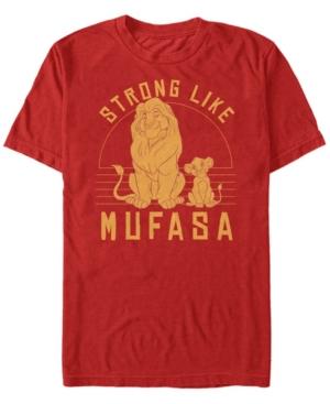 Be Strong Like Mufasa Short Sleeve T-Shirt