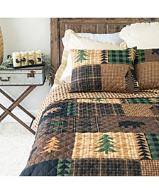 Brown Bear Cabin Quilt Collection