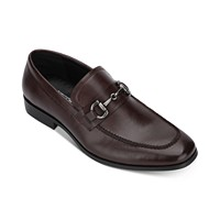 Unlisted by Kenneth Cole Men's Stay Bit Loafers (Bordeaux / Black)