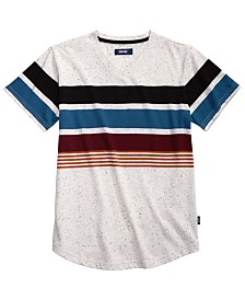 Univibe Big Boys Billy Colorblocked Stripe V-Neck T-Shirt