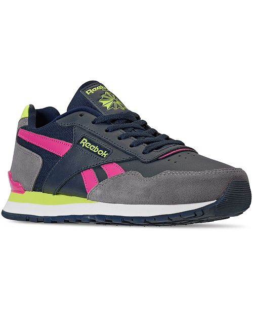 Reebok Women's Classic Harman Run Casual Sneakers from Finish Line