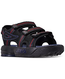 Fila Big Boys Disruptor Athletic Sandals from Finish Line