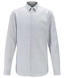 BOSS Men's Isko Slim-Fit Stain-Resistant Swiss Cotton Shirt