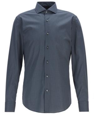 Boss Men's Jason Slim-Fit Motif-Print Shirt