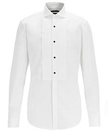 BOSS Men's Jarred Slim-Fit Easy-Iron Cotton Evening Shirt