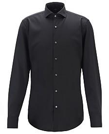 BOSS Men's Jason Slim-Fit Merino Wool Shirt