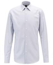 8278e345d6b4 BOSS Men's T-Carl Slim-Fit Striped Italian Cotton Twill Shirt