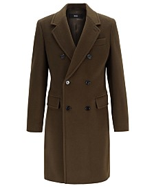 BOSS Men's Darvin Slim-Fit Double-Breasted Coat