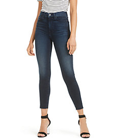 7 For All Mankind High-Waisted Skinny Ankle Jeans